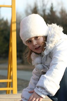 Free Child On Playground Royalty Free Stock Image - 4543106
