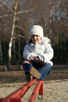 Free Child On Playground Royalty Free Stock Photos - 4543118