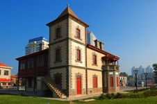 Free Yantai Constructs  Overseas Royalty Free Stock Images - 4543139
