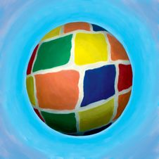 Colored Ball Stock Images