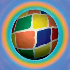 Colored Ball Stock Photo