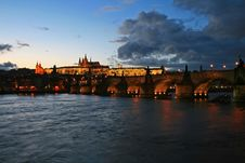 Free The Magnificent Prague Castle Royalty Free Stock Image - 4543876