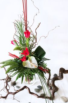 Free Flower Installation Royalty Free Stock Photography - 4544297