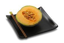 Free Fresh, Ripe Melon On White, Isolated Royalty Free Stock Photos - 4544568