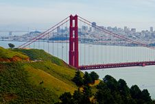 Free Golden Gate Bridge Royalty Free Stock Images - 4544719