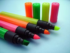 Free Color Pencils Royalty Free Stock Photography - 4545387