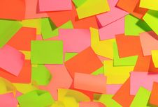 Free Sticky Notes Background Royalty Free Stock Images - 4545649