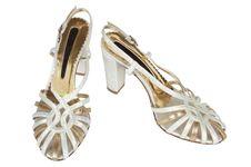 Free Fashionable Female Shoes Royalty Free Stock Photography - 4545847