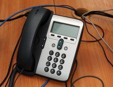 Free Digital Phone And Comuper Keyboard Stock Image - 4546161