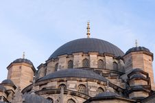 The Yeni Mosque Stock Images