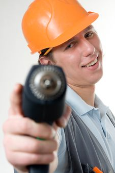 Free A Construction Worker Stock Images - 4546394
