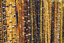 Free Necklaces From Amber Royalty Free Stock Photography - 4547157
