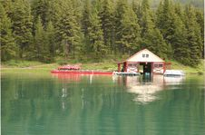 Free Boat House Stock Image - 4547311