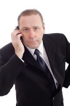 Free Serious Call Stock Image - 4547771