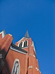 Free Church Tower And Steeple Stock Photos - 4547813