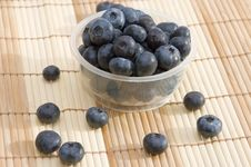 Free Blueberries In A Basket Royalty Free Stock Images - 4548229