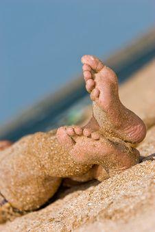 Free Sandy Foot Stock Photos - 4549673