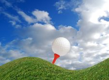 Free Challenging Game Of Golf Stock Image - 4549851