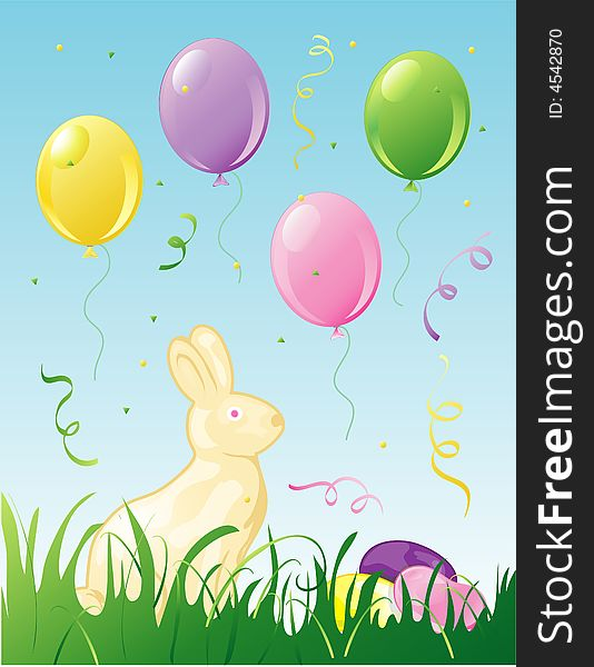 Easter Party background
