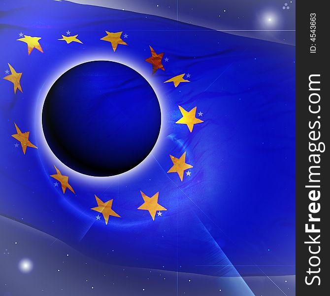 Flag of European