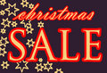Free Publicity For The Christmas Sale; Vector Royalty Free Stock Images - 4550039