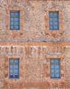 Free Windows In Stone Building Royalty Free Stock Photography - 4553257