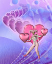 Free Princess Of Hearts Royalty Free Stock Photo - 4554365