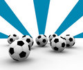 Free Soccer Balls Royalty Free Stock Images - 4555519