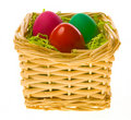 Free Easter Basket Royalty Free Stock Photography - 4557227