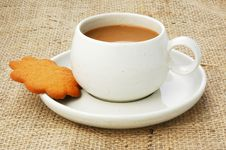 Free Coffee And Cookie Royalty Free Stock Photography - 4550037