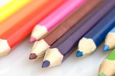 Free Pencils In Different Colors 3 Royalty Free Stock Photography - 4550247
