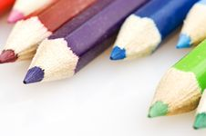 Free Pencils In Different Colors 4 Stock Photography - 4550252