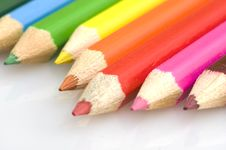 Free Pencils In Different Colors 5 Royalty Free Stock Photography - 4550257