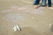 Free Street Artist Royalty Free Stock Image - 4550296