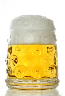 Free Glass Of Beer Close-up Royalty Free Stock Photography - 4550867