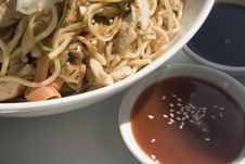 Free Sweet Souse And Noodle Royalty Free Stock Photos - 4551838