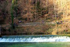 Free Blautopf Spring Pond Stock Image - 4552261