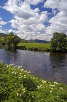 Free Scottish River And Landscape Stock Images - 4552824