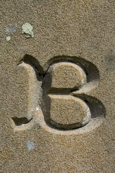 Free Letter B Stock Photography - 4552872