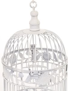 Free Top Of White Bird Cage. Royalty Free Stock Image - 4552896
