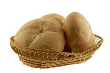 Bread In A Basket Stock Image