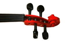 Free Neck An Old Violin Stock Photos - 4554393