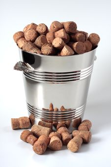 Free Pail And Cork Stock Images - 4554444