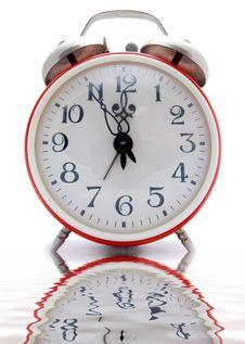 Free Red Alarm Clock Stock Photo - 4554490