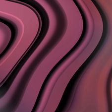 Free Abstract Wavy Background Royalty Free Stock Images - 4554549