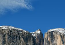 Free Mountains And The Sky Royalty Free Stock Photography - 4555217
