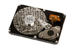 Free Isolated Opened Hard Disk Drive Stock Image - 4555721
