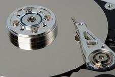 Free Macro Hard  Disk Drive Royalty Free Stock Image - 4555726