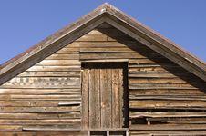 Old Rustic Barn Stock Photo