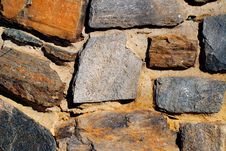 Free Stone Wall Royalty Free Stock Photos - 4555938